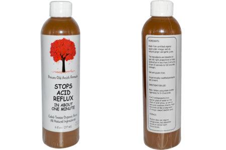 Caleb Treeze Organic Farm, Stops Stops Acid Reflux