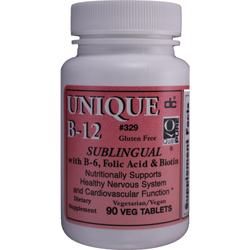 Unique B-12 SUBLINGUAL Vegetarian (Dee Cee Laboratories)