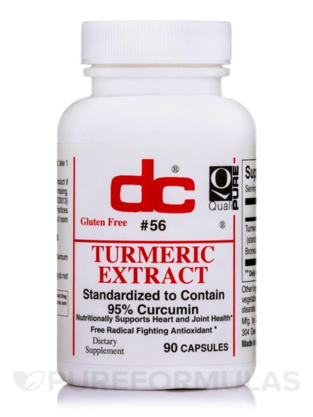 Turmeric 800mg Curcuma Longa (root) (Dee Cee Laboratories)